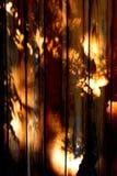 wood shadows Stock Photos