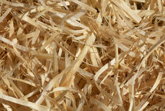 Wood shavings Royalty Free Stock Image