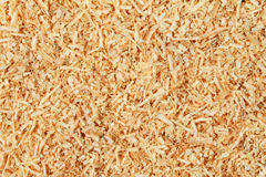 Wood shavings Royalty Free Stock Photo