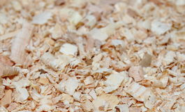Wood shavings background Stock Photos