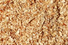 Wood Shavings Stock Photo