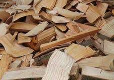 Wood Shavings. Royalty Free Stock Photo