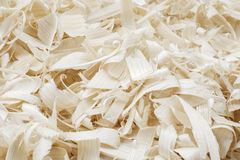 Wood shavings Royalty Free Stock Photos