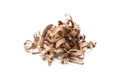 Wood shavings Stock Images