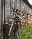 Wood-shed Στοκ Φωτογραφίες