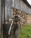 Wood-shed Stock Photos