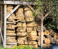 Wood Shed Stock Images