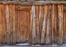 Wood shed Stock Image