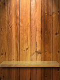 Wood Shelf Royalty Free Stock Photos