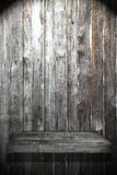 Wood Shelf. On Wood Wall have light royalty free stock photos