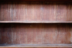 Wood shelf Royalty Free Stock Image