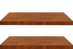 Wood. Is shelf on background stock image