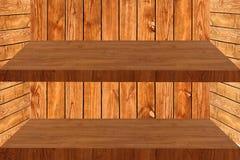 Wood. Is shelf on background royalty free stock photos