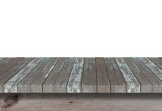 Wood shelf for background. Background for product display concept. Stock Photography