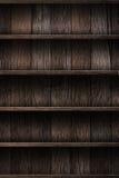 Wood shelf Royalty Free Stock Images