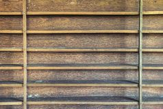 Wood shelf. Old wood shelf in abandoned house royalty free stock photography