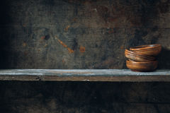 Wood Shelf Royalty Free Stock Photo