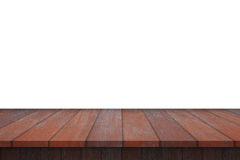 Wood Shelf Table isolated. On white background stock photos
