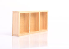 Wood shelves Stock Image