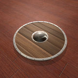 Wood Shield Stock Images