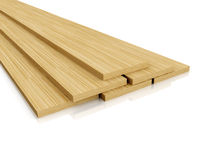Wood shims Stock Photos