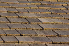 Wood Shingle Roof Royalty Free Stock Image