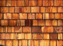 wood shingle texture 1 Royalty Free Stock Photo