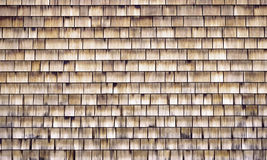 Wood Shingled Wall Stock Photos