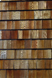Wood shingles Royalty Free Stock Photo