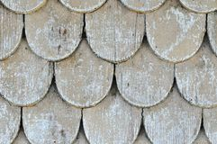 Wood shingles 2 Stock Images