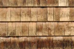 Wood Shingles Royalty Free Stock Photo