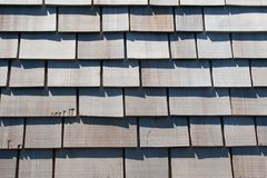 Wood Shingles Royalty Free Stock Image