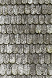 Wood shingles Royalty Free Stock Photography