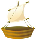 Wood ship Royalty Free Stock Images