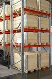 Wood shipping boxes Stock Photos