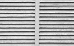 Wood shutter window texture and background. White wood shutter window texture and background Royalty Free Stock Photos