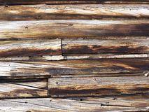 Wood siding. Stock Photo