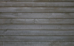 Wood Siding. Nailed to a wall Royalty Free Stock Photos