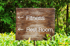 Wood sign Royalty Free Stock Images
