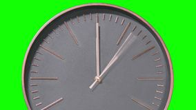 Modern Clock Face Fast Time Lapse stock video footage