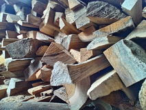 Wood simple. Jatiwood indonesian craft Stock Photography