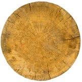 Wood skivatexturslut upp Fotografering för Bildbyråer