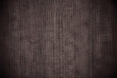 Wood skrivbord Arkivbilder