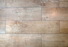 Wood slat floor background stock photo