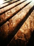 Wood. Slat wood ranang Royalty Free Stock Photos