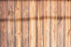 Wood slat with shadows royalty free stock images