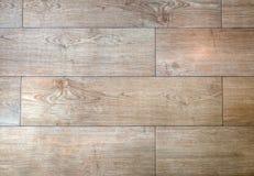 Wood slatgolvbakgrund Arkivfoto
