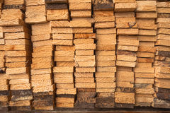Wood Slats Cuts Stock Photo