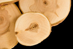 Wood slice Stock Images
