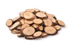 Wood Slices Stock Photo